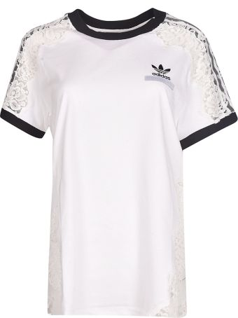 Adidas by Stella McCartney Laced-Detail T-Shirt
