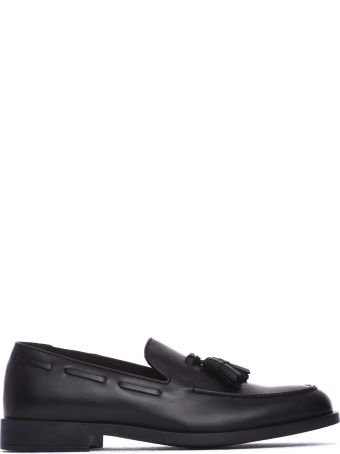 Fratelli Rossetti One Black Leather Loafer