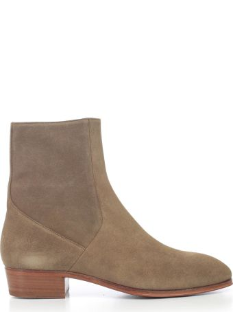 REPRESENT Side Zip Ankle Boots