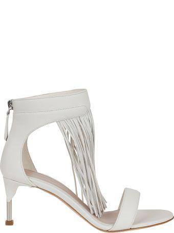 Alexander McQueen Mid Fringe Sandals
