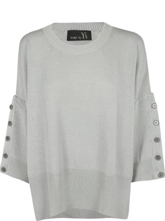 Y's Buttoned Detail Sweater