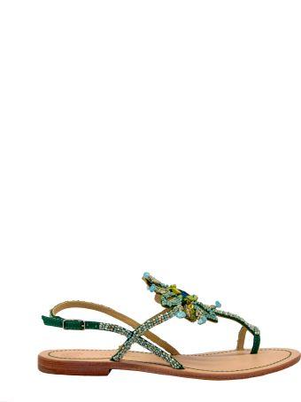 Malìparmi Maliparmi Beads Embroidery Flat Sandals