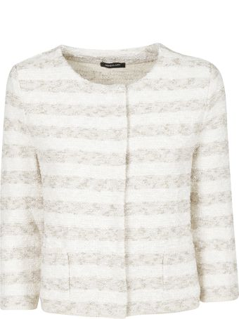 Anneclaire Striped Cardigan