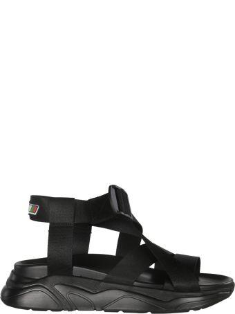 MSGM Cross Strap Sandals