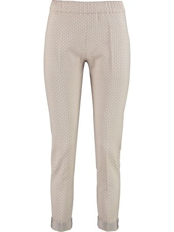 D.Exterior Embroidered Jogging Trousers
