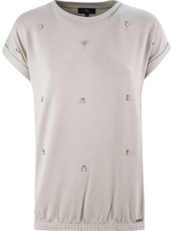 Fay Beige Jewel T-shirt