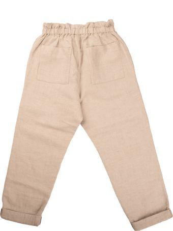 Bonpoint Natural Linen Blend Pants