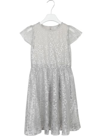 Stella McCartney Kids Metallic Star Print Dress