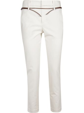 Brunello Cucinelli Belted Trousers