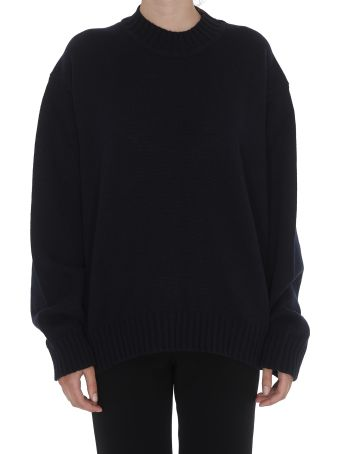 Jil Sander Cutted Out Details Pullover