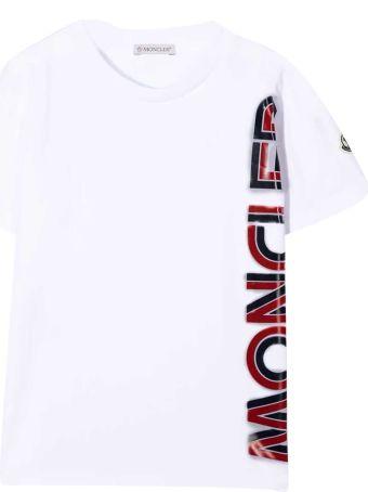 Moncler White T-shirt