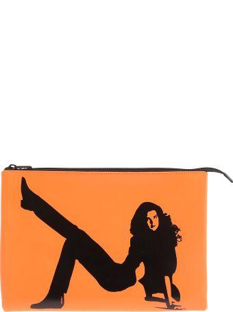 Calvin Klein Leather Pochette