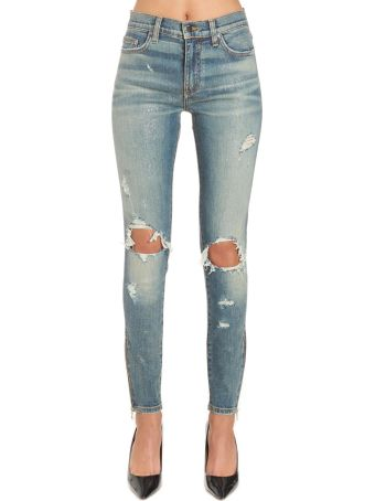 AMIRI 'glitter Thrasher' Jeans