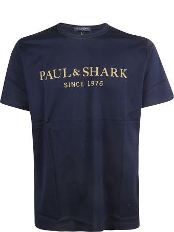 Paul&Shark Paul & Shark Logo Print T-shirt