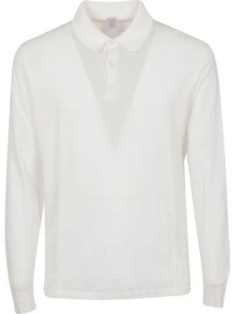 Eleventy Long Sleeved Polo Shirt