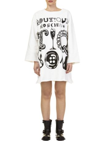 Boutique Moschino Boutique Moschino Cotton Mini Dress