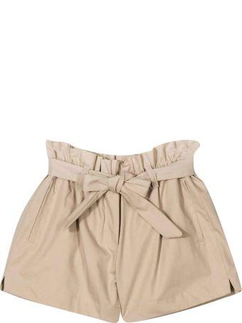 Dolce & Gabbana Beige Shorts Dolce And Gabbana Kids