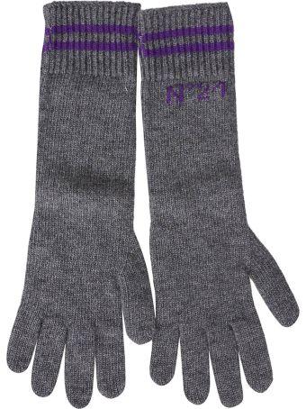 N.21 Logo Gloves