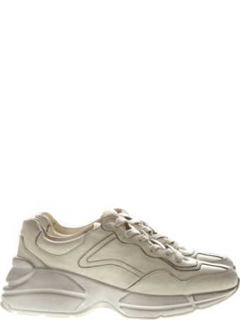 Gucci Yvory Rhyton Leather Sneaker