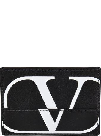 Valentino Logo Printed Wallet