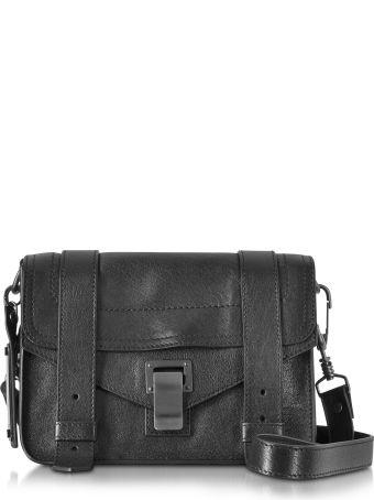 Proenza Schouler Ps1 Mini Black Lux Leather Crossbody