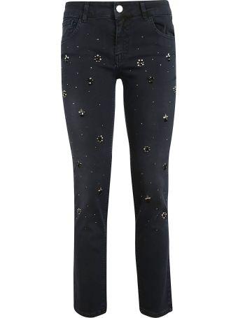 Blugirl Embellish Detailed Jeans