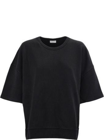Dries Van Noten Black Cotton Oversize Sweatshirt