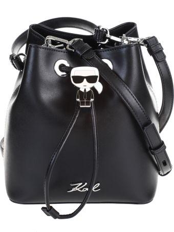 Karl Lagerfeld K / IKONIK bucket bag