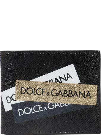 Dolce & Gabbana Logo Bifold Wallet