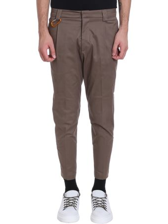 Low Brand Beige Cotton Pants