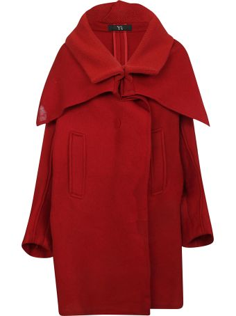 Y's Oversized Cape Coat