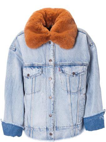 Levi's Fur Collar Denim Jacket