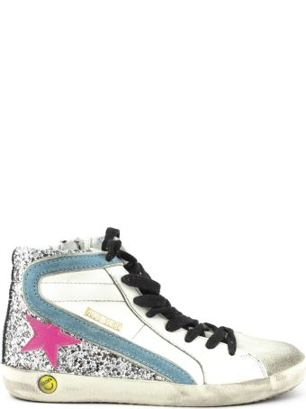 Golden Goose White Leather Francy Sneakers