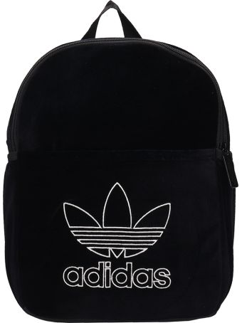 Adidas Mini Classic Black Velvet Backpack