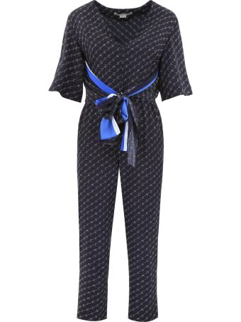 Stella McCartney Jumpsuit With All-over Logo