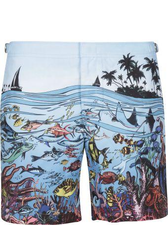 Orlebar Brown Reef Print Shorts