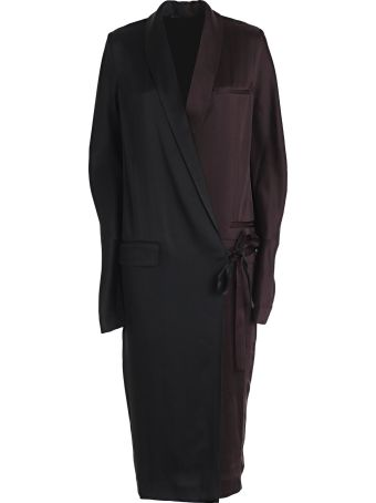 Haider Ackermann Wrap Tux Dress