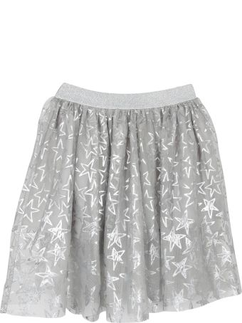 Stella McCartney Kids Metallic Star Print Skirt