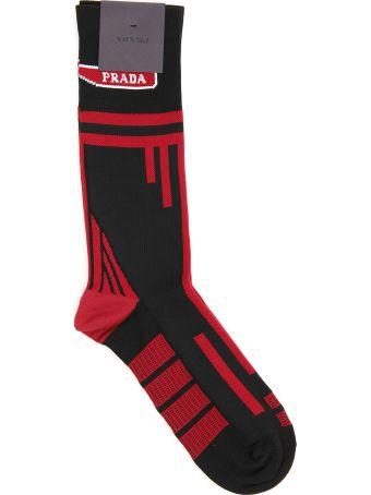 Prada Techno Nylon Socks