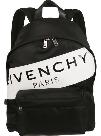 Givenchy Logo Stripe Backpack