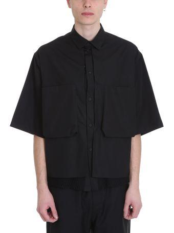 OAMC Black Cotton Shirt