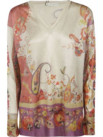 Etro Paisley Print Sweater