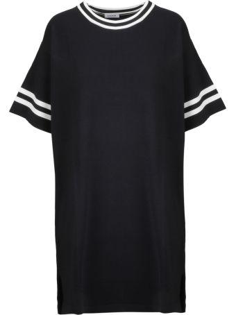 Parosh P.a.r.o.s.h. Stripe Trim T-shirt Dress