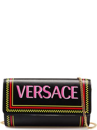 Versace Evening St Logo Shoulder Bag