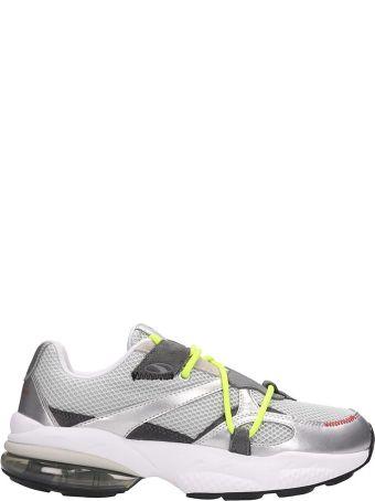Puma X Han Kjobenhavn Silver Fabric Cell Venom Sneakers