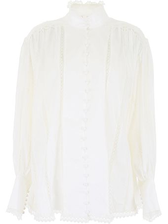 Zimmermann Shirt With Lace Inserts