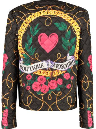 Boutique Moschino Quilted Techno Fabric Jacket