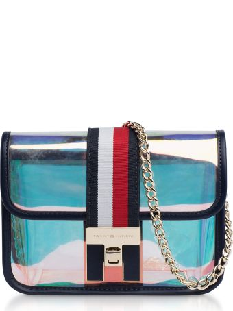 Tommy Hilfiger Iridescent The Heritage Mini Crossover Bag