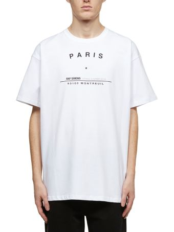 Raf Simons Tour Print T-shirt