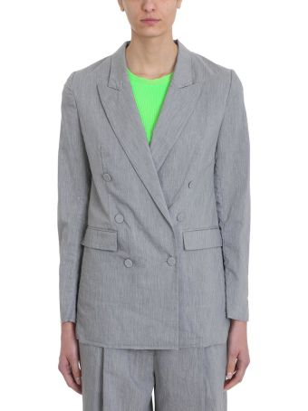 Maison Flaneur Double-breasted Blazer